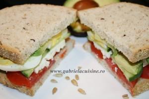 Sandwich pentru regim