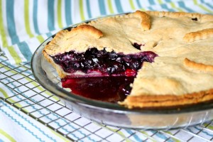Placinta cu afine americana/ Blueberry pie