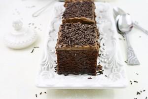 Negresa pufoasa/ Fluffy brownie