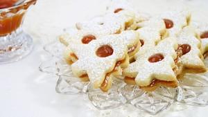 Biscuiti Linzer/ Linzer cookies