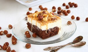 Tort cu mascarpone si caramel/ Caramel cake with white mousse