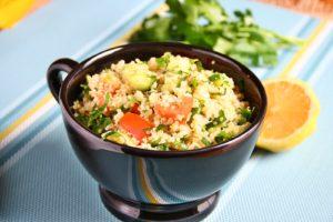 Quinoa salad/Salata de quinoa