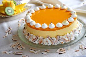 Mango Cake/Tort de Mango