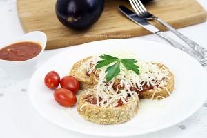 Vinete cu parmezan/ Eggplant parmesan