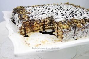 Chocolate Biscuit Cake/Tort de biscuiti cu ciocolata