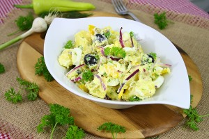 Salata orientala cu maioneza