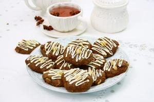 Fursecuri cu alune si ciocolata/ Chocolate hazelnut cookies
