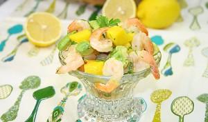 Salata de creveti/Shrimp salad