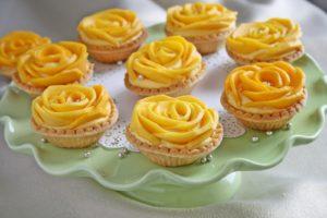 Mango Tarts/Tarte cu mango